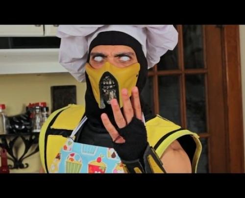 Μαγειρεύοντας με τον Scorpion του Mortal Kompat