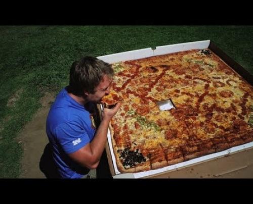 Εσύ πόσο pizza μπορείς να φας?