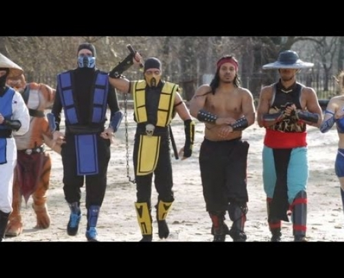 Mortal Kombat VS Street Fighter: EPIC DANCE BATTLE