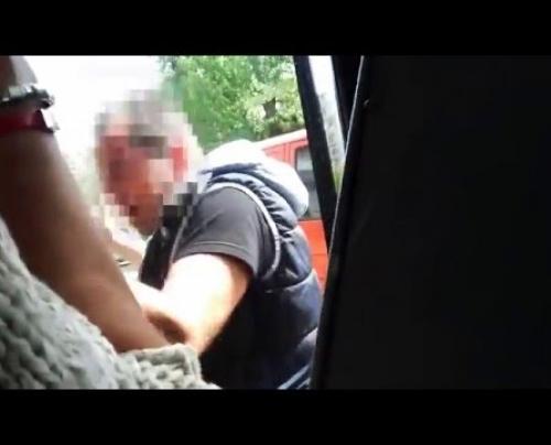 Έλληνας οδηγός μπαίνει σε μονόδρομο και κάνει καυγά