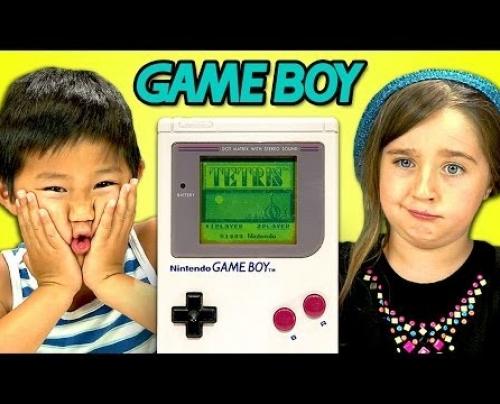Όταν τα παιδιά συναντούν το Game Boy