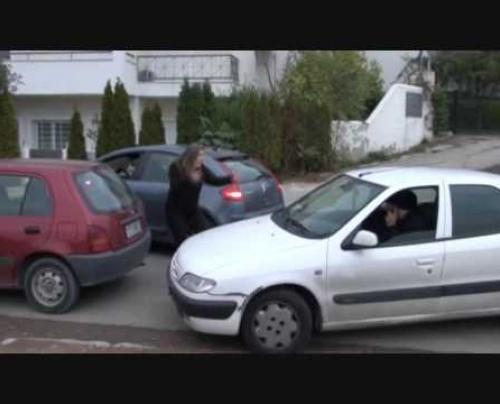 Ο Ελληνάρας απρόβλπετος οδηγός