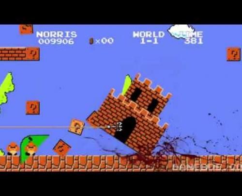 Ο Chuck Norris στην θεση του Mario