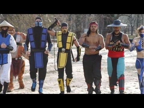 Mortal Kombat VS Street Fighter: EPIC DANCE BATTLE